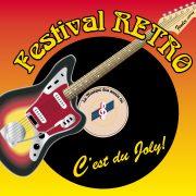 Logo festival retro