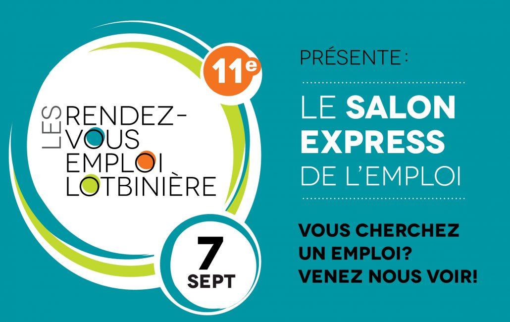 Salon express de l 39 emploi d couvrir lotbini re chaque jour for Salon de l emploi 2017